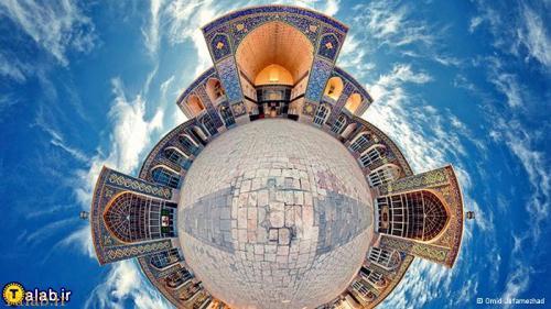عکس های پانوراما از اماکن دیدنی و تاریخی ایران