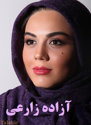 بازیگر زن ایرانی که برای فیلم کچل کرد !+ عکس