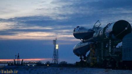 افتتاح نخستین پایگاه فضایی روسیه و حضور پوتین (عکس)