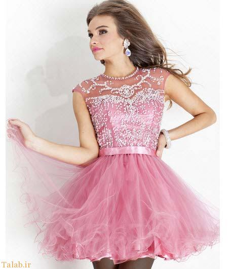 مدل لباس جدید مجلسی دخترانه