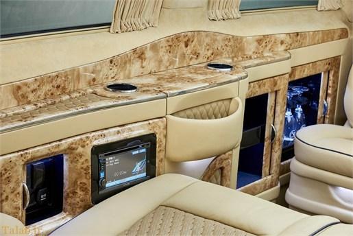 خودروی ون اشرافی مرسدس بنز برای ثروتمندان !+ تصاویر