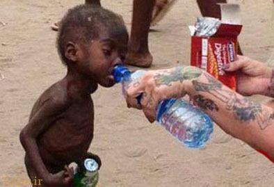 عکسی زیبا که نشان میدهد انسانیت زنده است