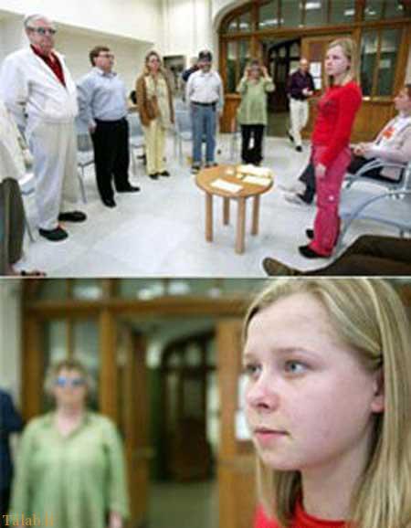 چشمان جادویی این دختر دانشمندان را متعجب کرد (عکس)
