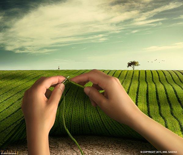عکس های جالب و دیدنی ترکیبی از یک عکاس هندی