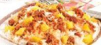 طرز تهیه سیب زمینی پلو با گوشت