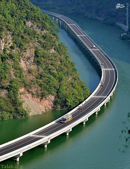 رویایی ترین بزرگراه در چین (+عکس)
