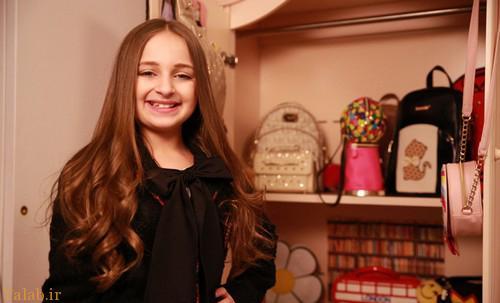 دختر میلیونر شش ساله را بشناسید (عکس)