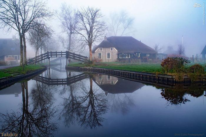 سفری به یکی از روستاهای رویایی در هلند !+ عکس