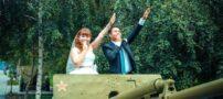 عکس های دیدنی و خنده دار از عروس و دامادها
