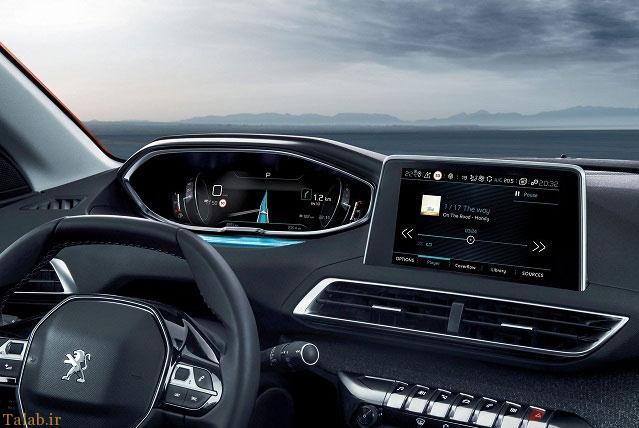 خودروی جدید پژو شاسی بلند 3008 (+عکس)