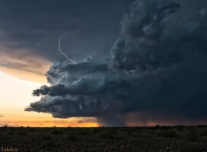 عکس های طبیعت شگفت انگیز از رعد و برق