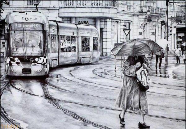 نقاشی های شگفت انگیز با خودکار (+عکس)