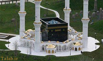 مسجد جالب به شکل خانه خدا (عکس)