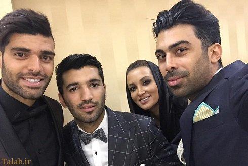 روناک یونسی و همسرش در عروسی (+عکس)