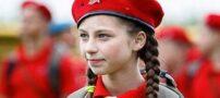 آموزش نوجوانان روسی برای عضویت در ارتش + عکس