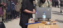 داعش دست نوجوان 16 ساله را قطع کرد (+18)