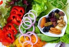 داشتن سلامت جسمی با تغذیه صحیح
