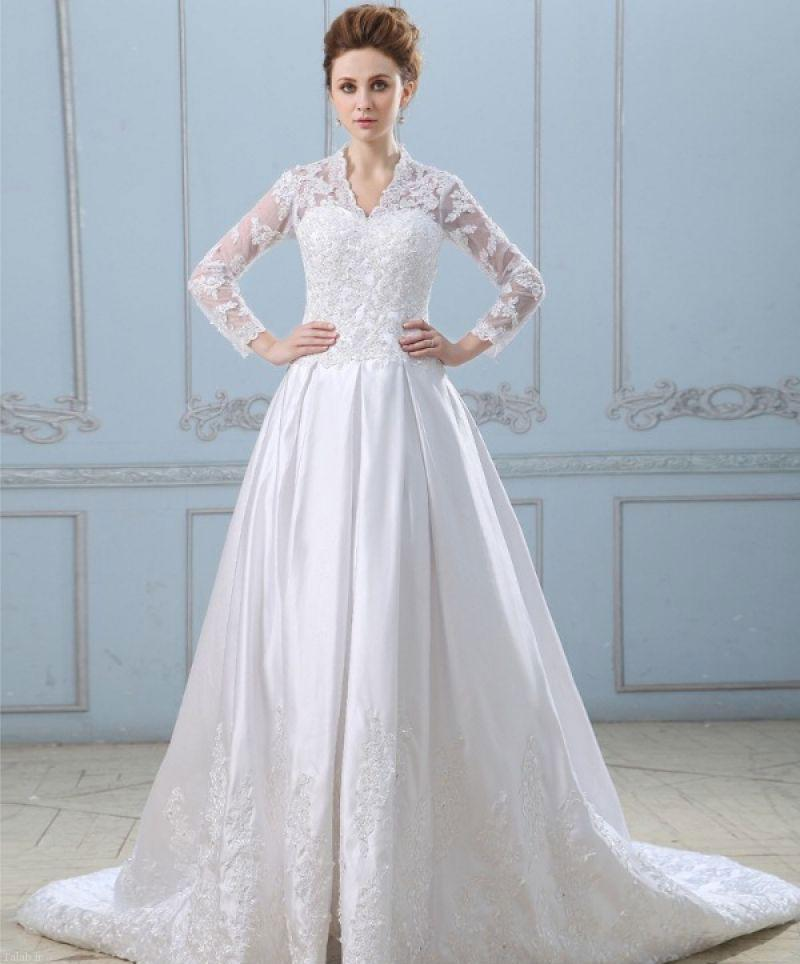 چطور در لباس عروسی لاغرتر دیده شویم؟
