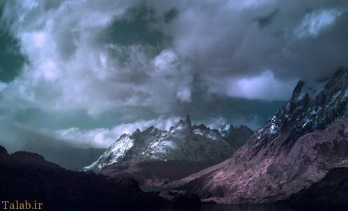 عکس های از طبیعت سرزمینی بکر و دورافتاده