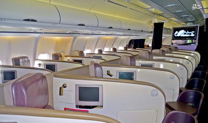 مدرن ترین هواپیمای مسافربری ایران ( + تصاویر)