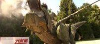 رکورد بزرگترین ربات اژدهای جهان (عکس)