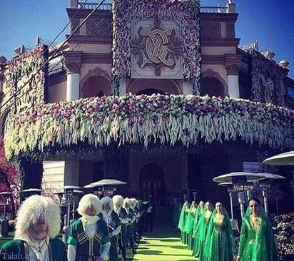 گران ترین جشن عروسی جهان + تصاویر
