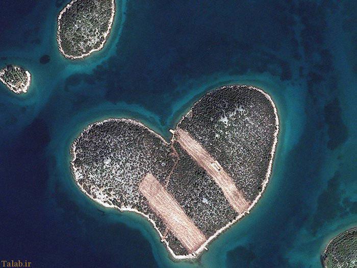 شکل ظاهری عجیب این جزایر شگفت انگیز (+ تصاویر)