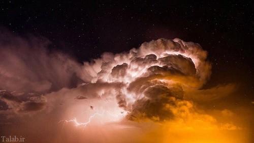 عکس هایی وحشتناک از از طوفان و گردباد در آمریکا