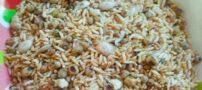 طرز تهیه برنج تفت داده شده