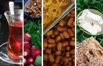 توصیه های مهم تغذیه ای در روزه داری