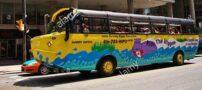 اتوبوس جالب دو زیست در کانادا + تصاویر