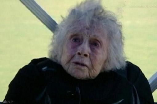 شجاعت این پیرزن 102 ساله آمریکایی + عکس