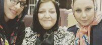 عکس سلفی بهنوش بختیاری با مادرش در بیمارستان