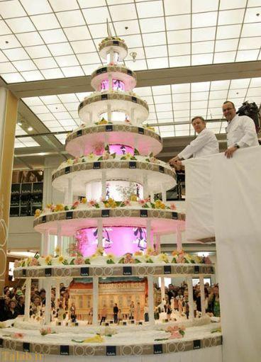 بلند ترین کیک دنیا