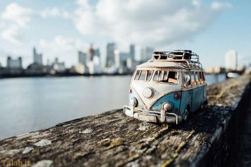 عکسهای جالب از خودروهای مینیاتوری (عکس)