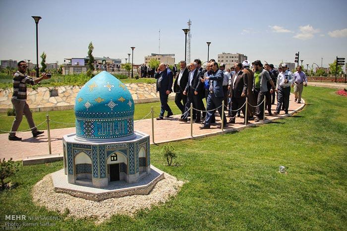 تصاویری مینیاتوری از دیدنی های ایران در پارک مشهد