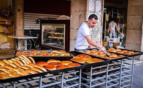 تصاویری از حال و هوای رمضان در بازار دمشق