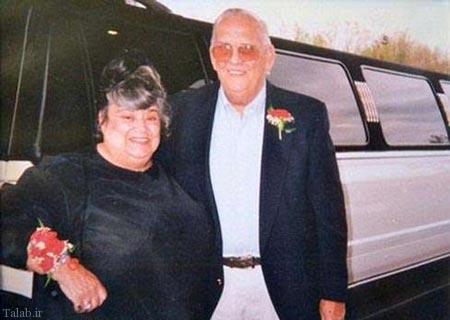 60 سال زندگی زوج عاشق در کنار هم (عکس)