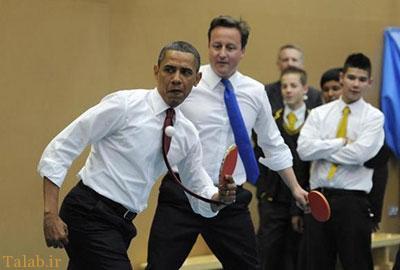 تفریح سیاستمداران معروف چگونه است ؟+ عکس