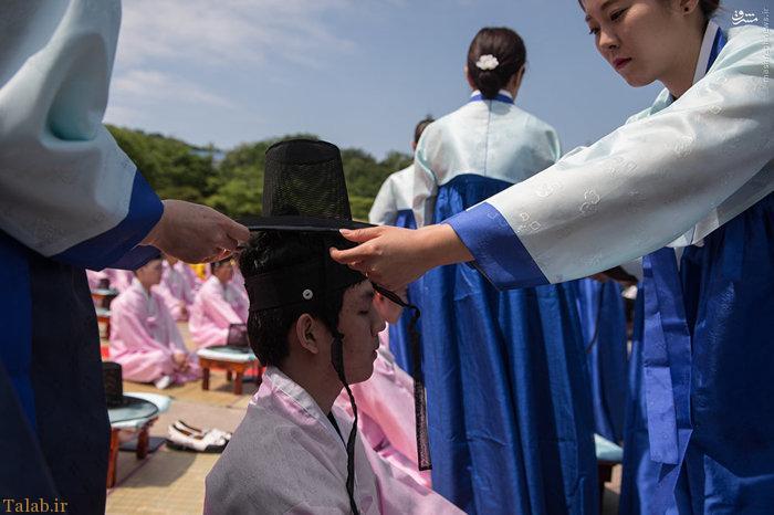 عکس های دیدنی از جشن بلوغ دختران کرهای