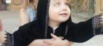 دختر زیبای سوئیسی با چادر در اصفهان (عکس)