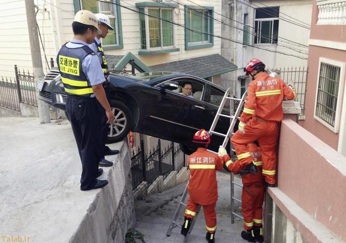عکس هایی از حادثه های عجیب و غریب