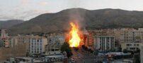 گودالی که انفجار گاز در تهران ایجاد کرد (+عکس)