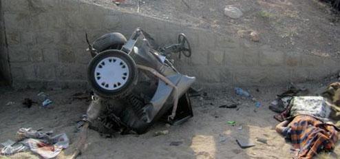 ترکیدن لاستیک پراید این حادثه وحشتناک را رقم زد !+ عکس