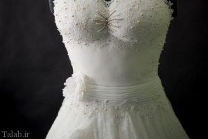 این لباس عروس جالب پوشیدنی نیست ! (عکس)