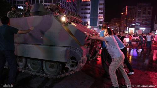 کودتا در ترکیه به روایت تصویر
