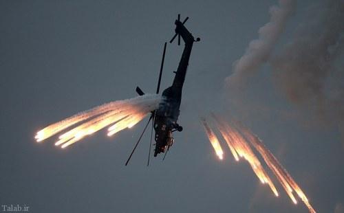 عکس های فوق العاده دیدنی از مانور هوایی روسیه