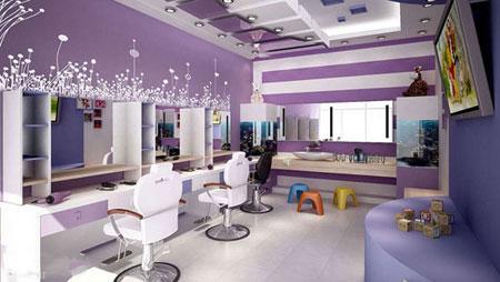 شیک ترین مدل دکوراسیون سالن آرایشی زنانه
