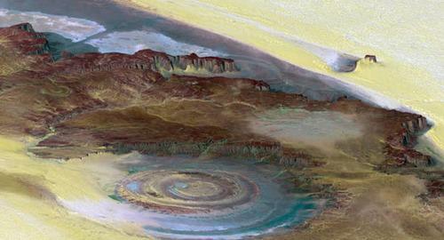 چشم زیبای صحرای موریتانی !+ عکس
