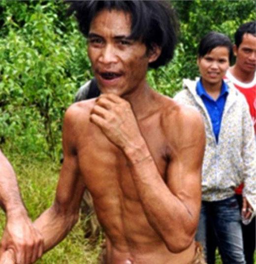 پیدا شدن تارزان 44 ساله در ویتنام !+ تصاویر